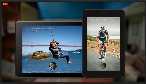 Facebook Home Startbildschirm auf Android-Smartphones und -Tablets