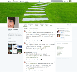 Twitter-Profil von Susanne Plaumann